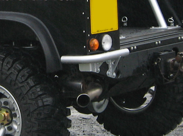 Protection & Performance bumperettes on Land Rover Defender