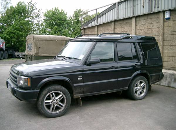 Protection & Performance light bar on Land Rover Discovery 2