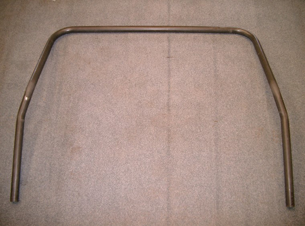 Land Rover Defender external roll cage front hoop outside of wings to sills (50.8mm/2 inch)