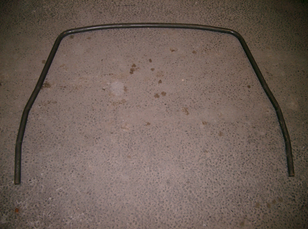 Range Rover Classic external roll cage hoop to sills (45mm/1.75 inch)