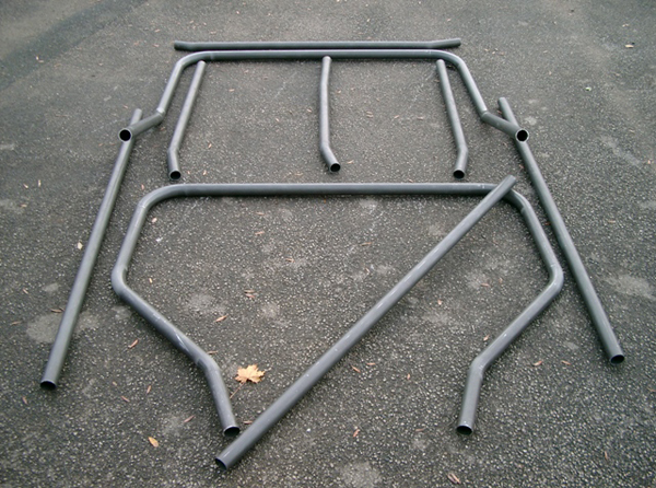 Land Rover Defender truck cab roll cage kit