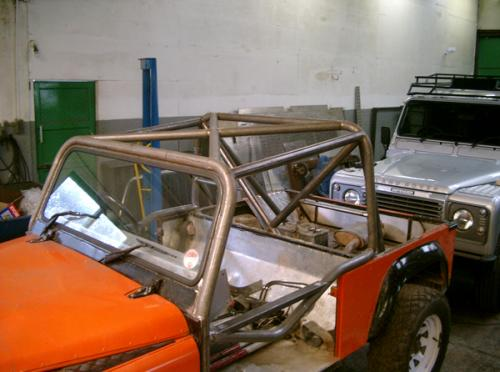 Roll cage repairs